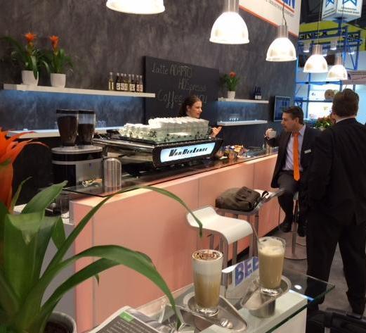 kwaliteitskoffie van Vanderlande bij Logimat
