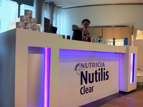 Cocktails tijdens de lancering van een nieuw product
