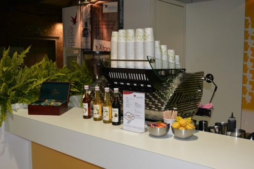 Presentatie koffie catering
