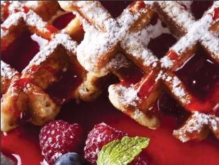 Warme wafel catering
