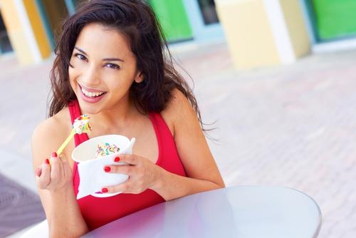 Frozen yoghurt assortiment