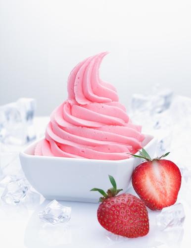 Frozen yoghurt catering op beurzen