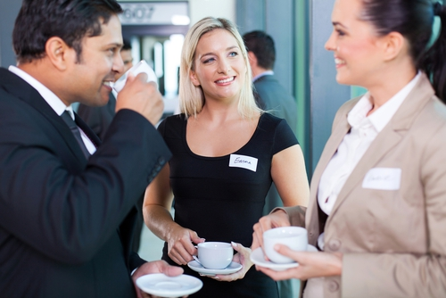 Coffee and cocktails at seminars
