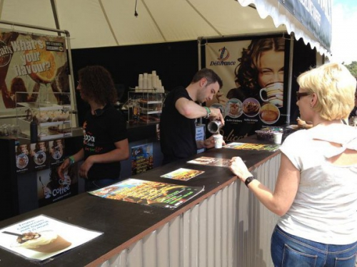coffee and cocktails at festivals