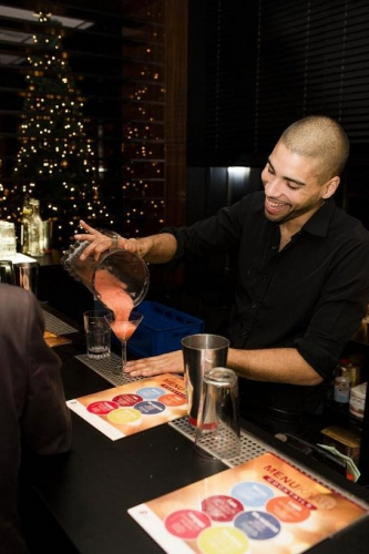 flair bartending at events