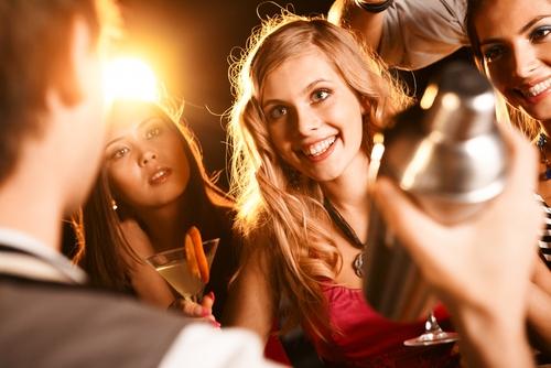 Cocktails op uw privé feest