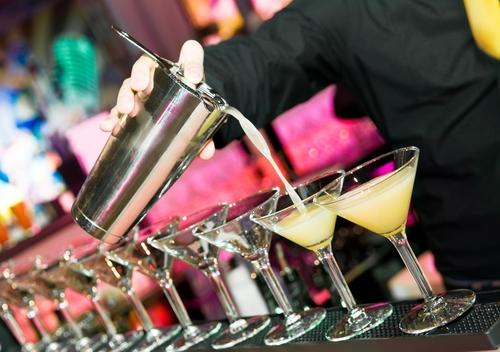 Cocktail catering op bedrijfsevenement