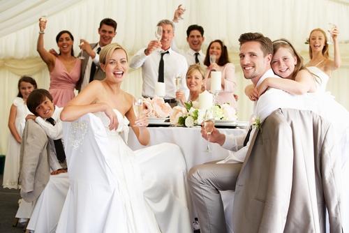 Cocktail catering op bruiloften