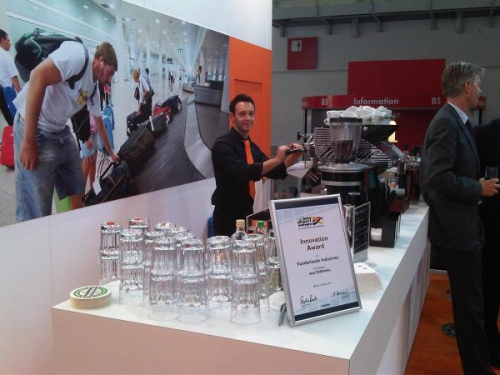 Coffee and cocktails at exhibitions